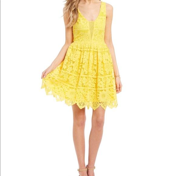 455a4c160e GB Juniors Sleeveless Lace Dress